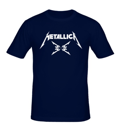 Мужская футболка Metallica 4M logo