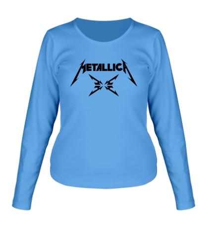 Женский лонгслив Metallica 4M logo