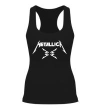 Женская борцовка Metallica 4M logo