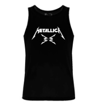 Мужская майка Metallica 4M logo