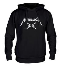 Толстовка с капюшоном Metallica 4M logo