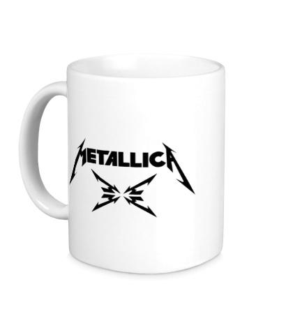 Керамическая кружка Metallica 4M logo