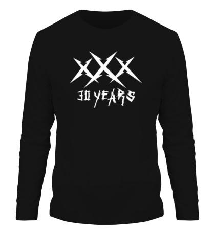 Мужской лонгслив Metallica: 30 years
