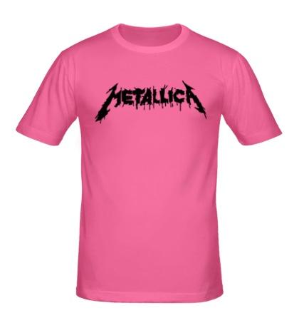 Мужская футболка Metallica Painted