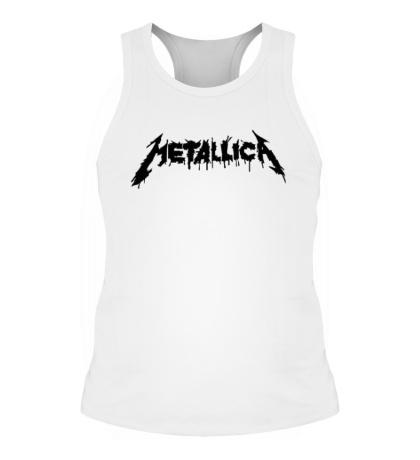 Мужская борцовка Metallica Painted