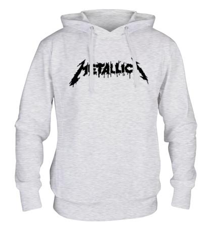 Толстовка с капюшоном Metallica Painted