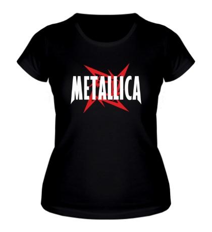 Женская футболка Metallica Star