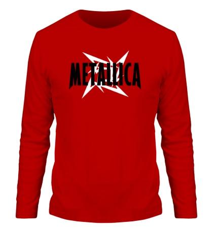 Мужской лонгслив Metallica Star
