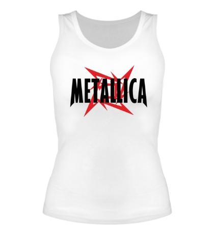 Женская майка Metallica Star