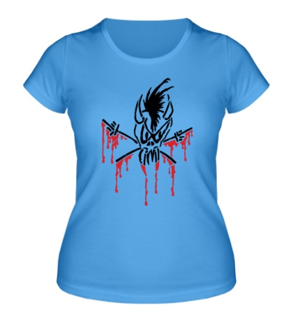 Женская футболка Scary Guy