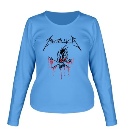 Женский лонгслив Metallica: Scary Guy