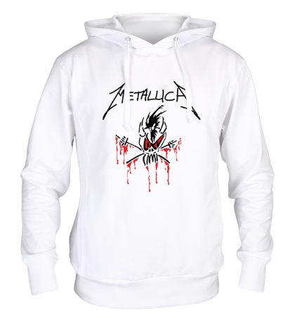 Толстовка с капюшоном Metallica: Scary Guy