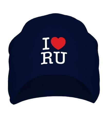 Шапка I love RU