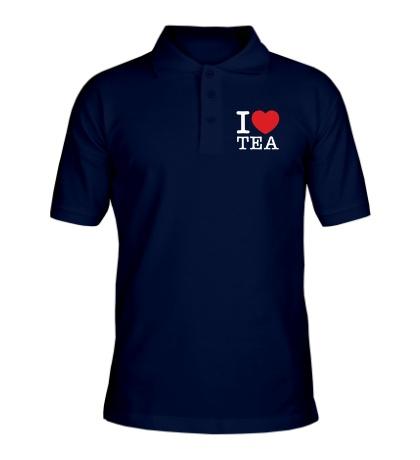 Рубашка поло I love tea