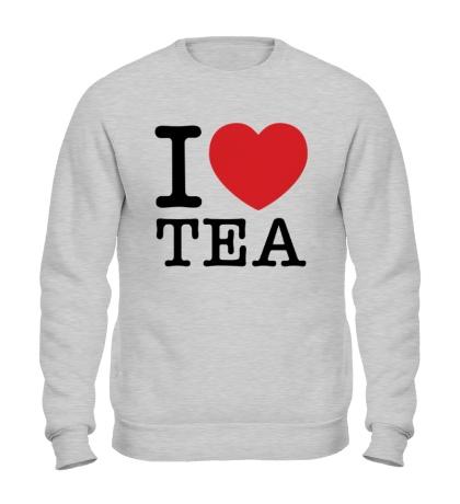 Свитшот I love tea