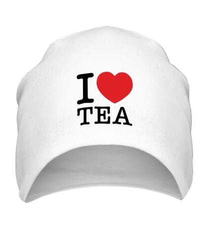 Шапка I love tea