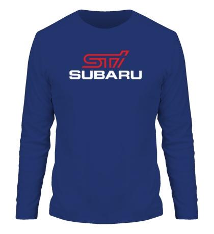 Мужской лонгслив Subaru STI