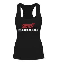 Женская борцовка Subaru STI