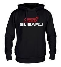 Толстовка с капюшоном Subaru STI