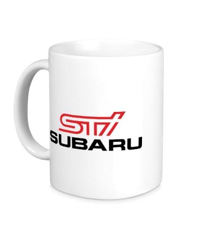 Керамическая кружка Subaru STI