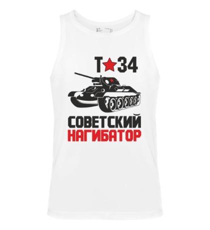 Мужская майка Т-34, советский нагибатор