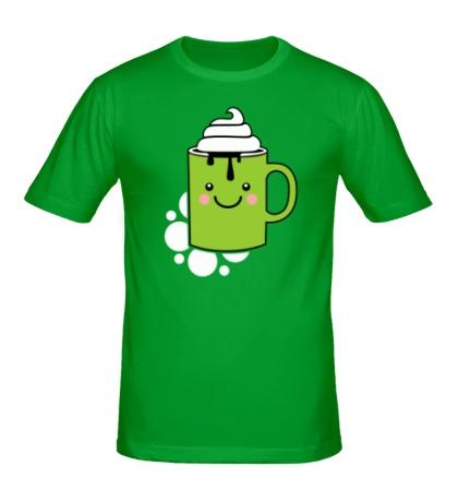 Мужская футболка Кофе со сливками