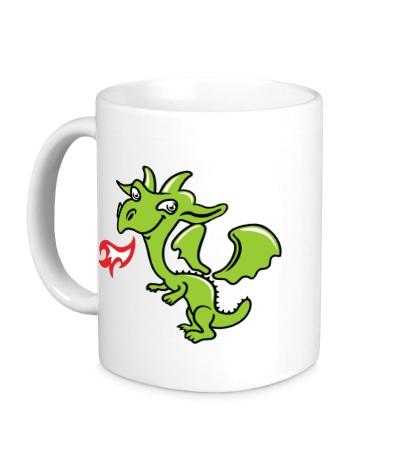 Керамическая кружка Маленький дракончик
