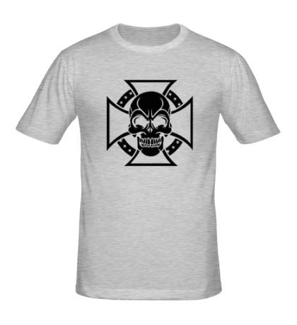 Мужская футболка Крест тамплиеров