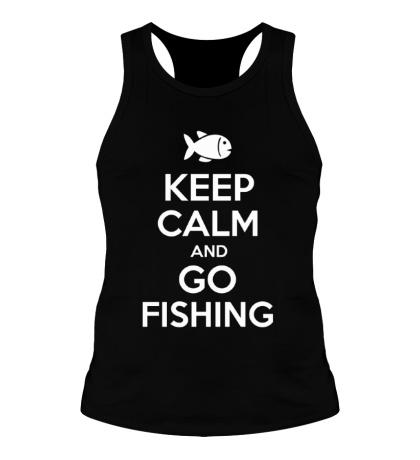 Мужская борцовка Keep Calm & Go Fishing