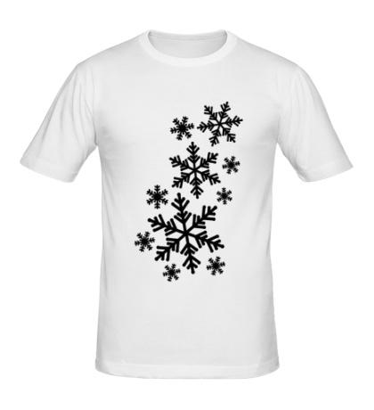 Мужская футболка Снегопад