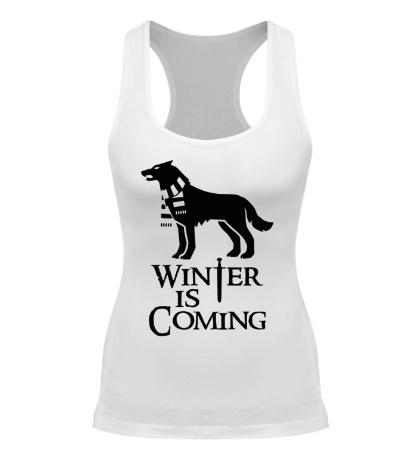 Женская борцовка Winter is Coming: Dog