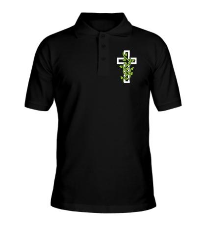 Рубашка поло Крест с вьюнком