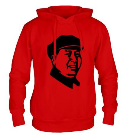 Толстовка с капюшоном Мао Дзе Дун в кепке