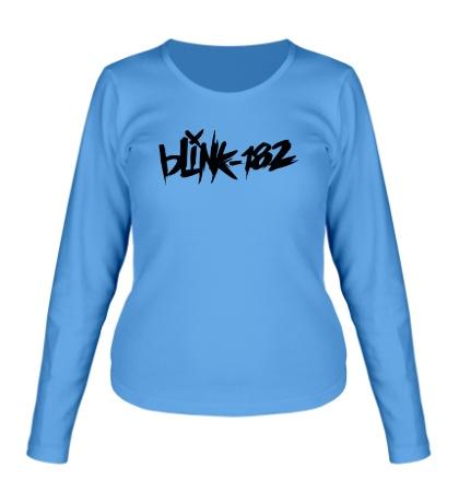 Женский лонгслив Blink-182 Logo