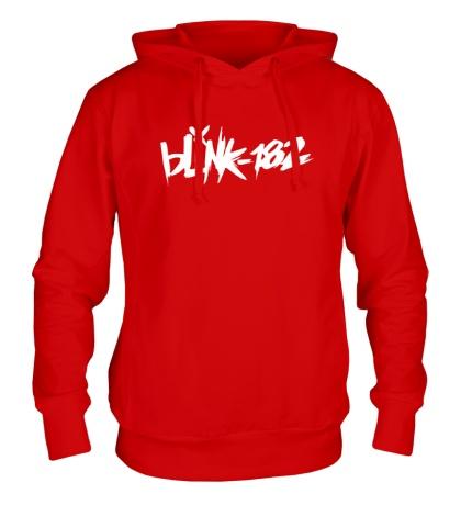 Толстовка с капюшоном Blink-182 Logo
