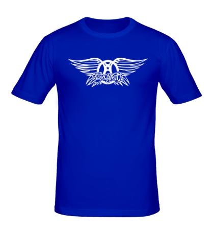 Мужская футболка Aerosmith logo