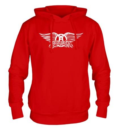 Толстовка с капюшоном Aerosmith logo