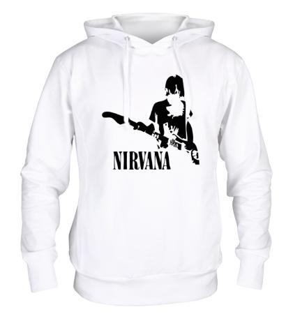 Толстовка с капюшоном Nirvana Guitar