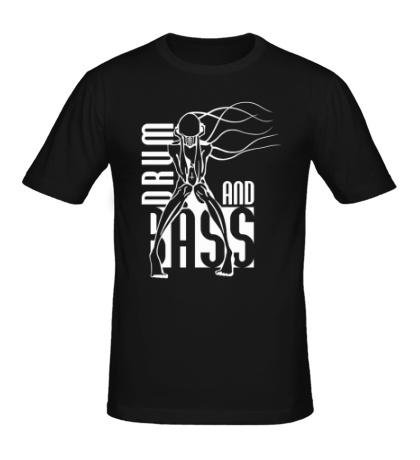 Мужская футболка Drum and Bass