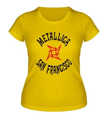 Женская футболка Metallica: San Francisco
