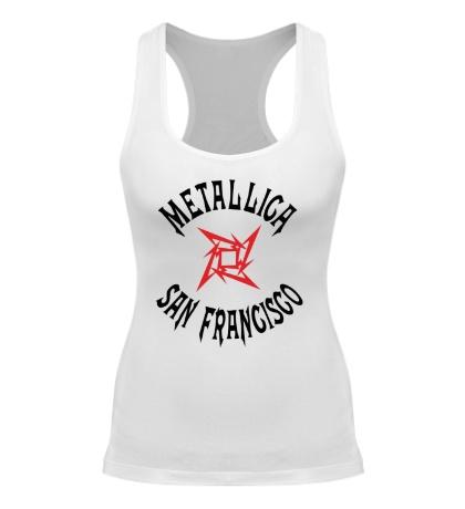 Женская борцовка Metallica: San Francisco