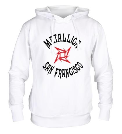 Толстовка с капюшоном Metallica: San Francisco
