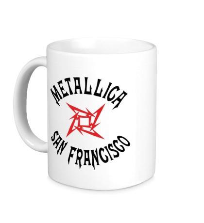 Керамическая кружка Metallica: San Francisco