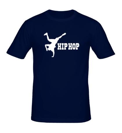 Мужская футболка Hip-Hop Dancer