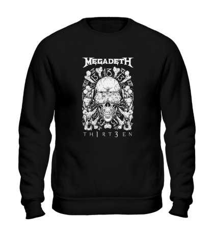 Свитшот Megadeth Thirteen