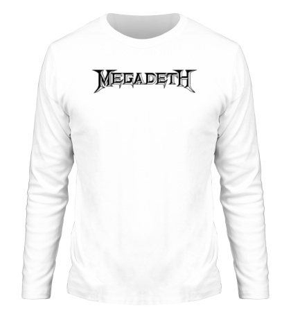 Мужской лонгслив Megadeth