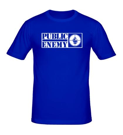 Мужская футболка Public Enemy Aim