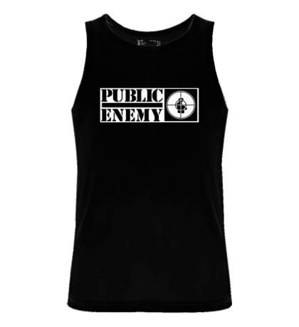 Мужская майка Public Enemy Aim