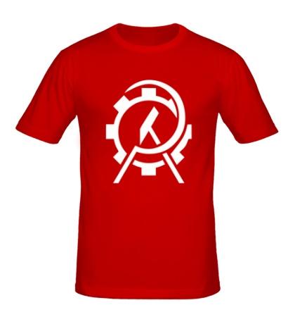 Мужская футболка Anarcho Сommunist