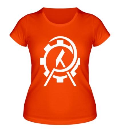 Женская футболка Anarcho Сommunist